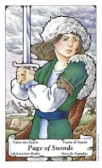 The Page of Swords tarot card meaning