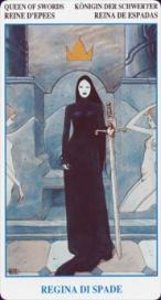 The Queen of Swords tarot card meaning