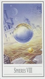 meaning of the Eight of Pentacles  tarot card