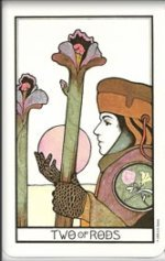 meaning of the Two of Wands  tarot card