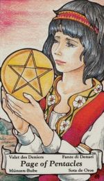 meaning of the Page of Coins  tarot card
