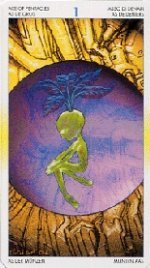 meaning of the Ace of Pentacles  tarot card