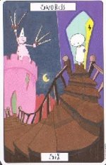meaning of the Six of Swords tarot card