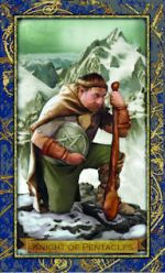 meaning of the Knight of Coins  tarot card