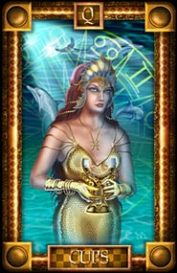 The Queen of Cups tarot card meaning