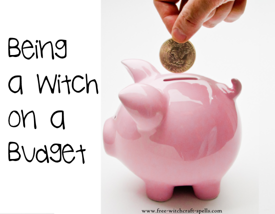 being a witch on a budget