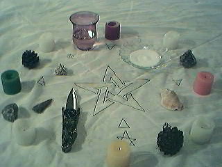hiding your witchcraft altar