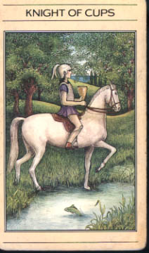 meaning of the Knight of Cups tarot card