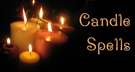witchcraft candle spells