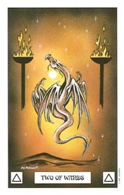 The Two of Wands tarot card meaning