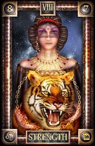 Strength tarot card meaning