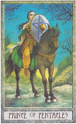 The Knight of Coins tarot card meaning