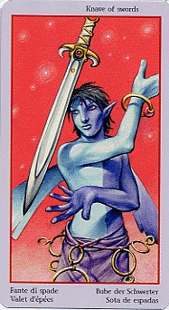 meaning of the Knight of Swords tarot card