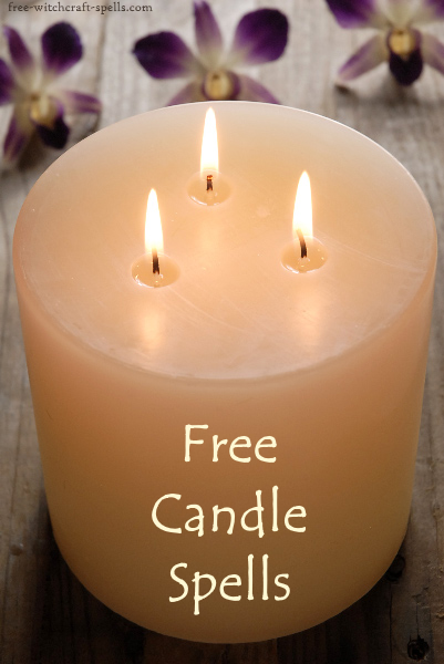 free candle spells