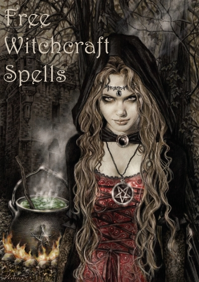 Collection of free witchcraft spells
