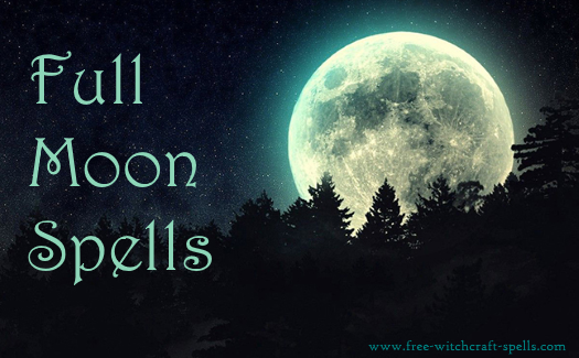 Full moon spells