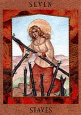 meaning of the Seven of Wands  tarot card