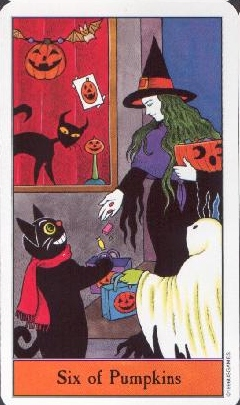 The Six of Coins tarot card meaning