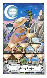 meaning of the Eight of Cups tarot card