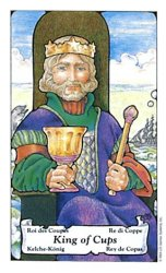 The King of Cups tarot card meaning