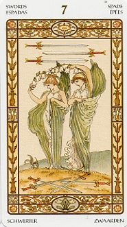 meaning of the Seven of Swords tarot card