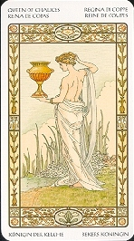 meaning of the Queen of Cups tarot card