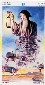 Hermit tarot card meaning