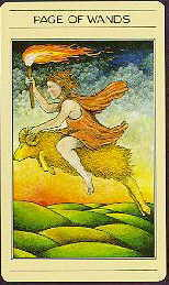 meaning of the Page of Wands  tarot card