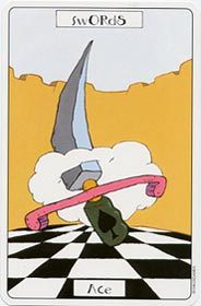 The Ace of Swords tarot card meaning