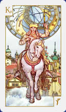 meaning of the Knight of Wands  tarot card