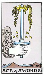 Ace of Swords Tarot card meaning