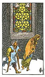 Five of Coins Tarot card meaning