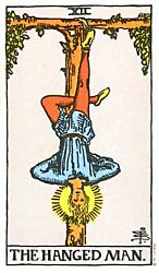 hanged man tarot card meaning