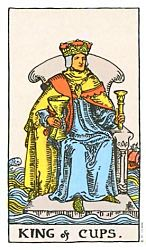 King of Cups Tarot card meaning