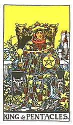 King of Coins Tarot card meaning
