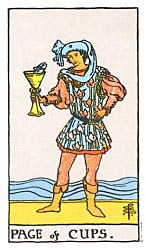 Page of Cups Tarot card meaning