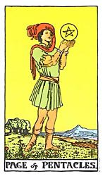 Page of Coins Tarot card meaning