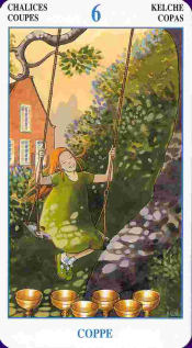 meaning of the Six of Cups tarot card