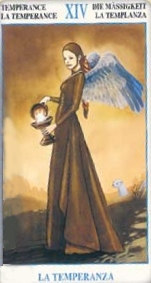 meaning of theTemperance Tarot card