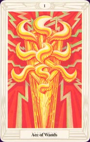 The Ace of Wands tarot card meaning