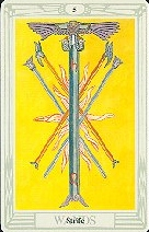 The Five of Wands tarot card meaning