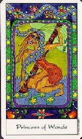 The Page of Wands tarot card meaning
