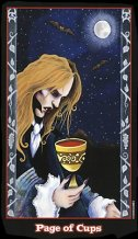 meaning of the Page of Cups tarot card
