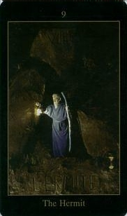 meaning of the Hermit tarot card
