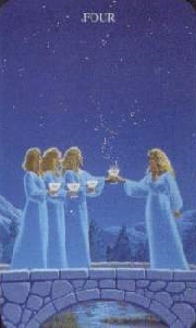 meaning of the Four of Cups tarot card