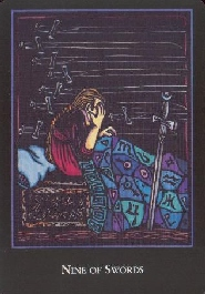 meaning of the Nine of Swords tarot card