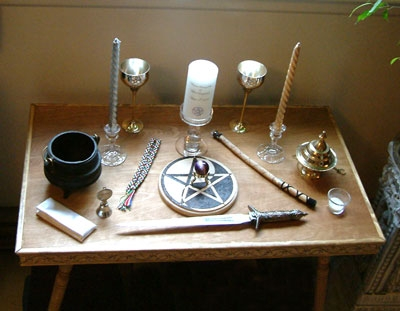 witch supplies and tools