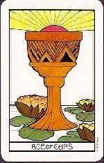 meaning of the Ace of Cups tarot card