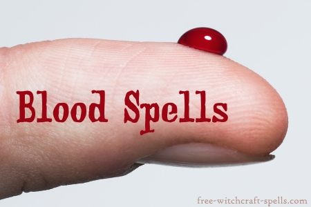 blood magick in witchcraft