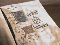 book of shadows with witchcraft spells